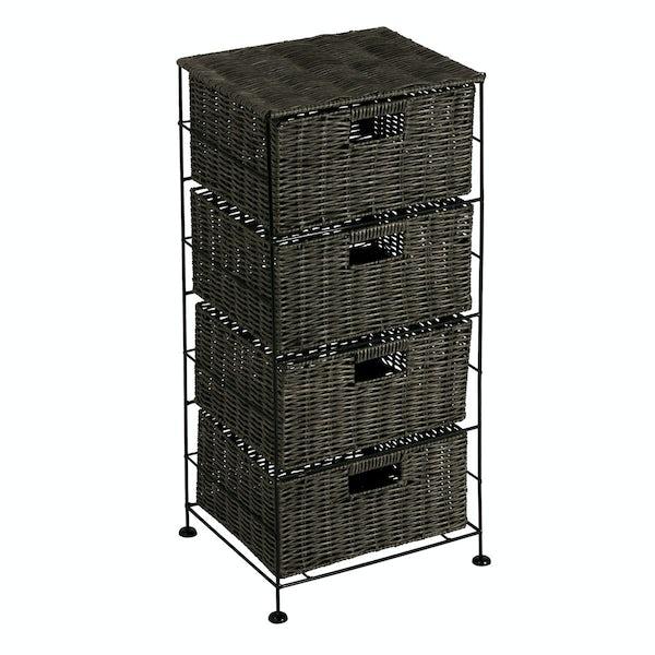 Showerdrape Matteo 4 drawer unit