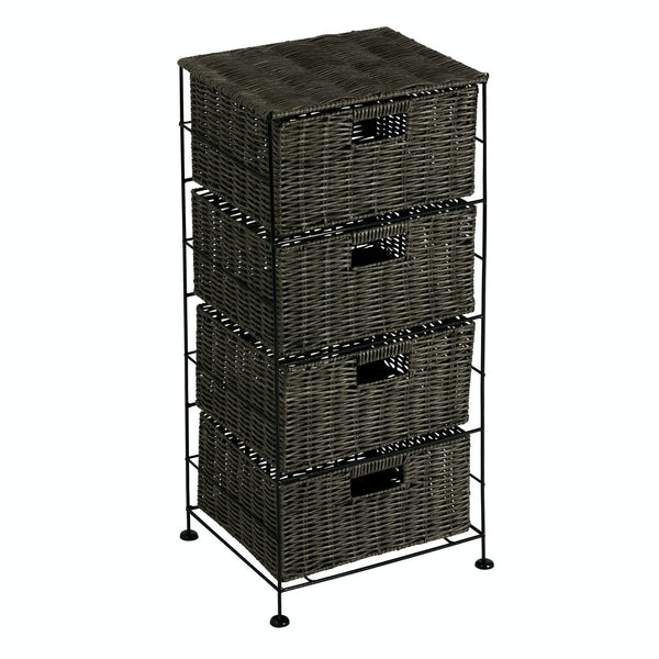 Showerdrape Matteo 4 drawer unit