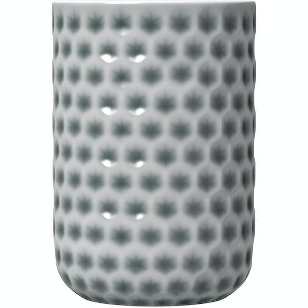 Accents grey polka dot tumbler