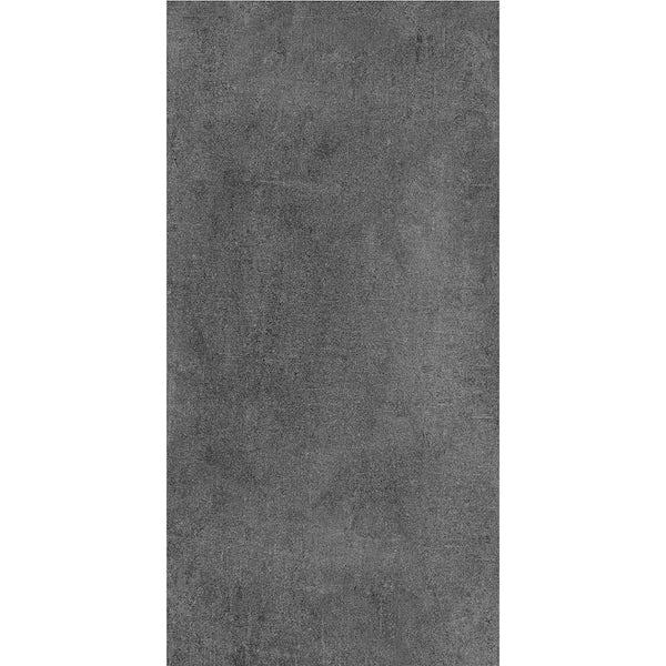 Manitoba concrete anthracite SPC flooring 6mm
