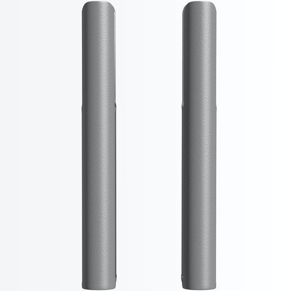 The Heating Co. Corso anthracite grey 3 column radiator feet