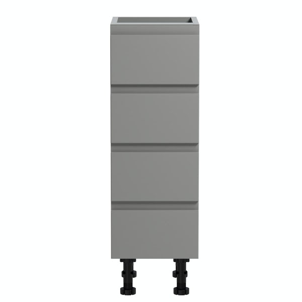 Orchard Wharfe slate grey multi-drawer storage unit 668 x 250mm
