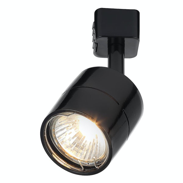 Forum Lyra GU10 cylinder black track light