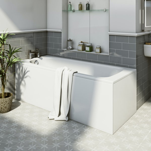 Kaldewei Cayano straight steel bath