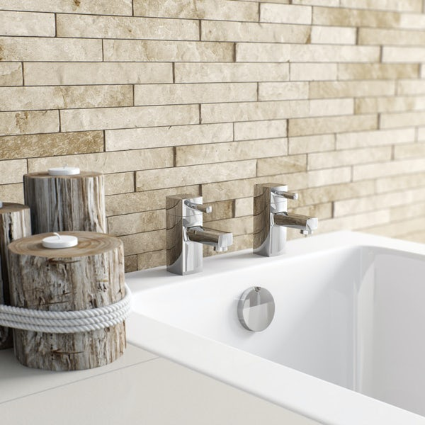 Orchard Derwent basin mixer and bath tap pack