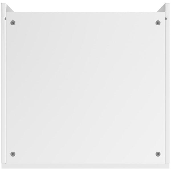 Schon Boston white slab 600mm larder unit