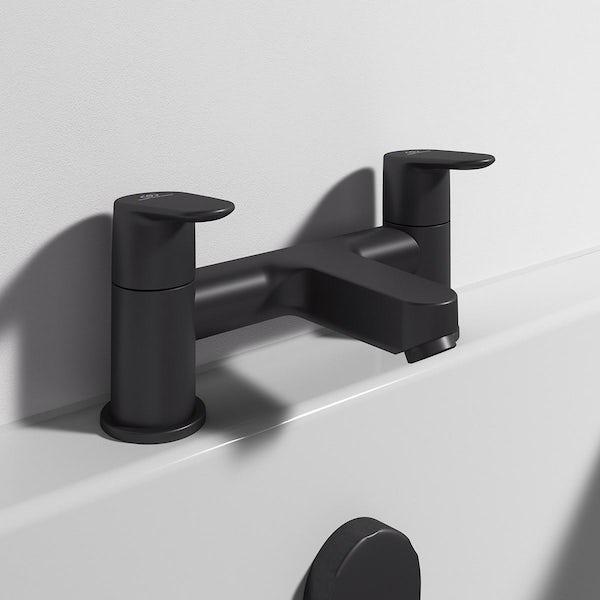 Ideal Standard Cerafine O silk black black bath mixer tap
