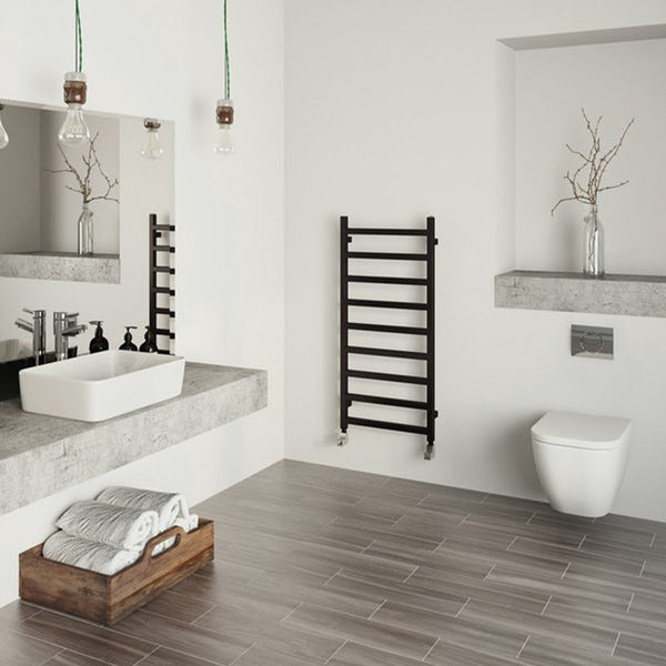 Terma Simple heban black designer towel rail
