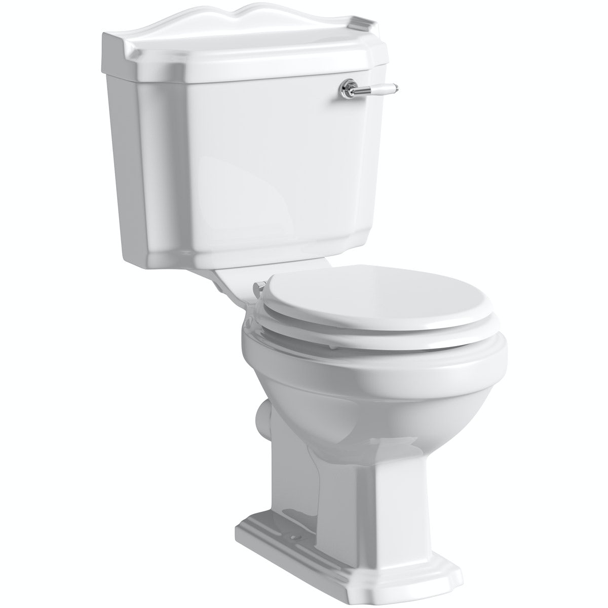 Winchester Close Coupled Toilet Inc White Seat