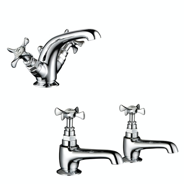 Mira Virtue basin mixer and bath tap pack