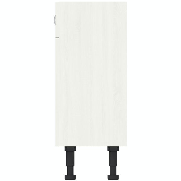 The Bath Co. Newbury white back to wall toilet unit 500mm