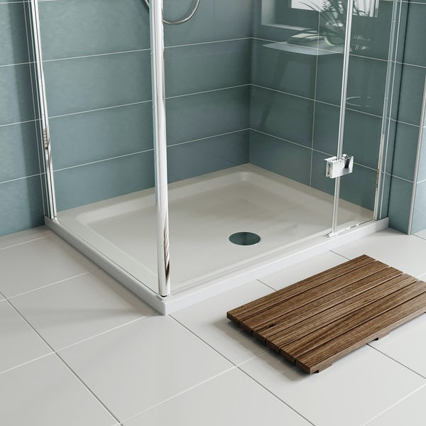 Orchard rectangular stone shower tray up to 1200mm