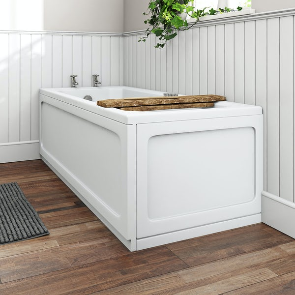 The Bath Co. Traditional bath acrylic front and end panel pack 1700 x 700