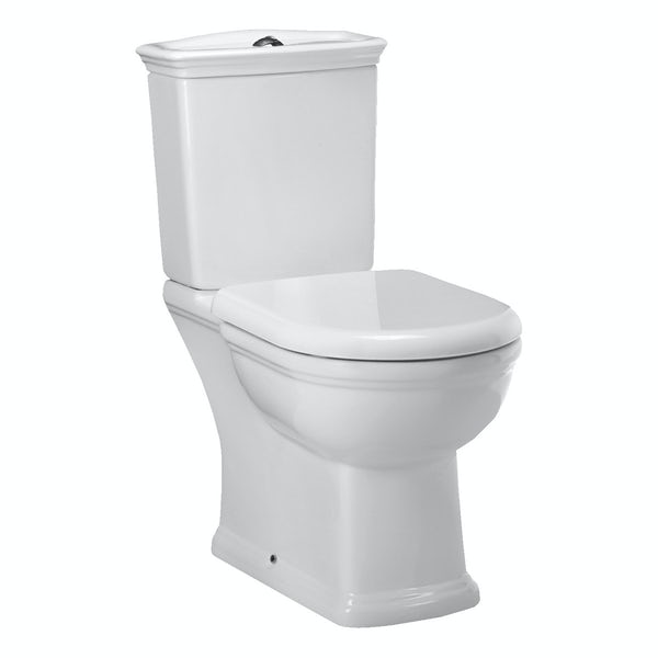 RAK Washington close coupled toilet inc soft close seat