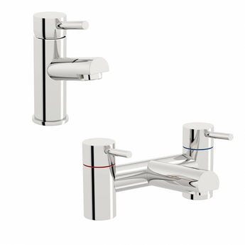Orchard Eden basin and bath mixer tap pack