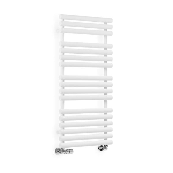 Terma Rolo Towel white designer towel rail