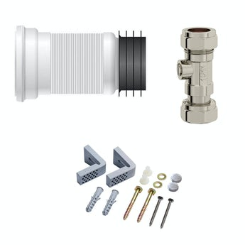 Universal toilet fitting pack