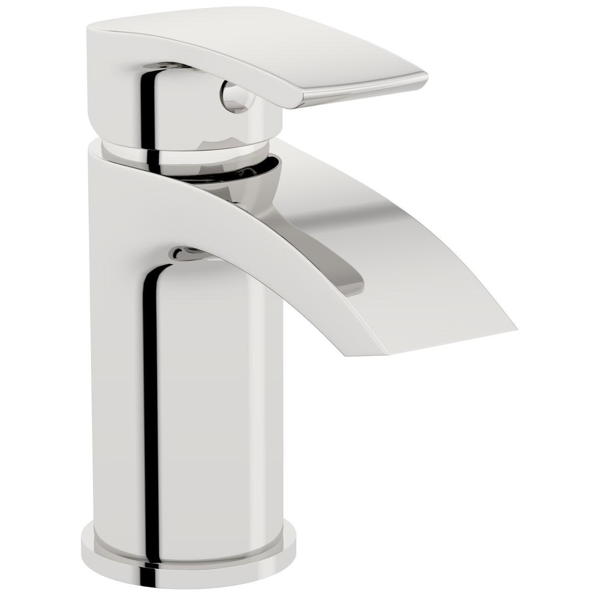 Orchard Derwent round basin mixer tap