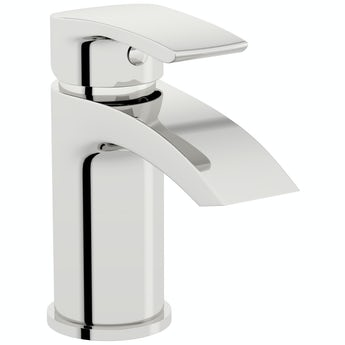Orchard Wye round basin mixer tap