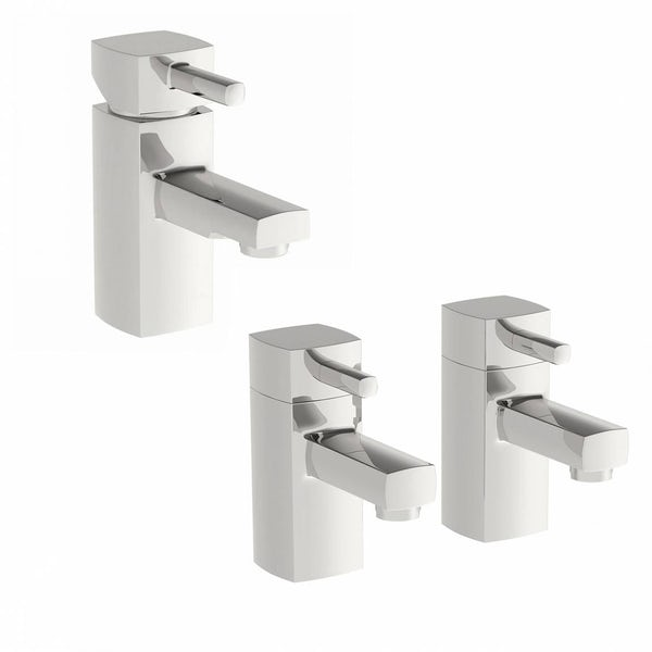 Derwent Basin Mixer and Bath Tap Pack