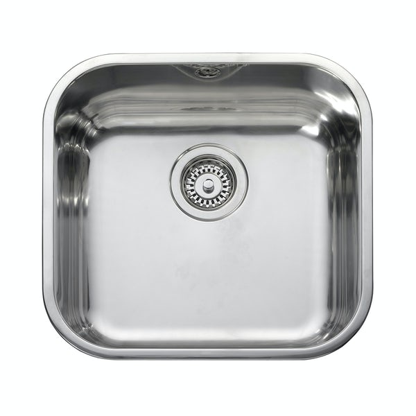 Leisure 1.0 bowl inset square kitchen sink
