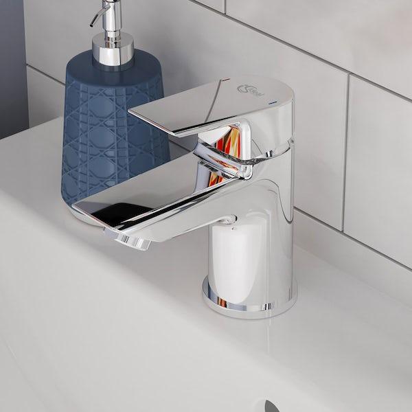 Ideal Standard Concept Space white complete left handed shower bath suite 1700 x 700