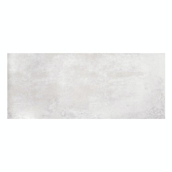Geneva grey stone effect matt wall tile 250mm x 600mm