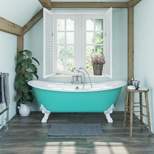 Artist Collection Green Bee cast iron bath