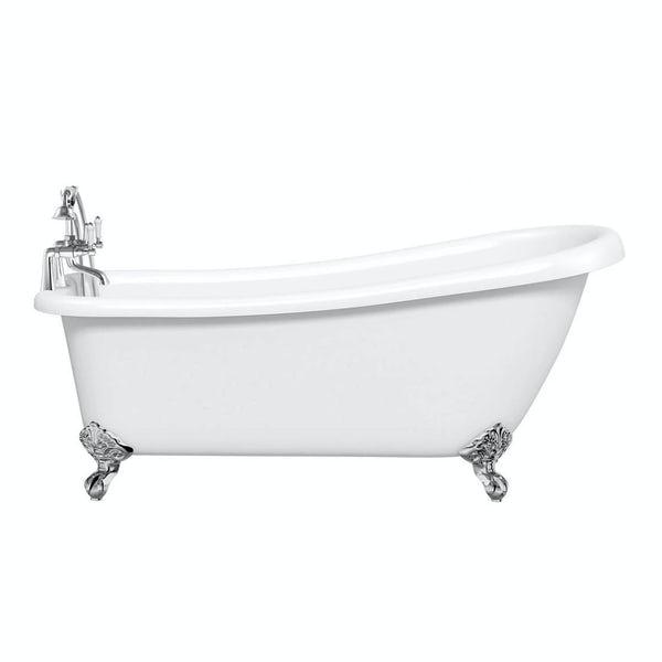 Winchester Slipper Bath Small with Ball Feet