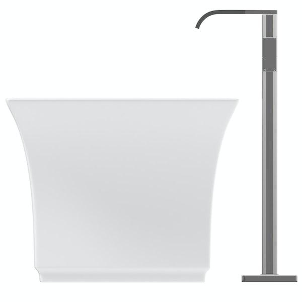 Mode Austin freestanding bath & tap pack