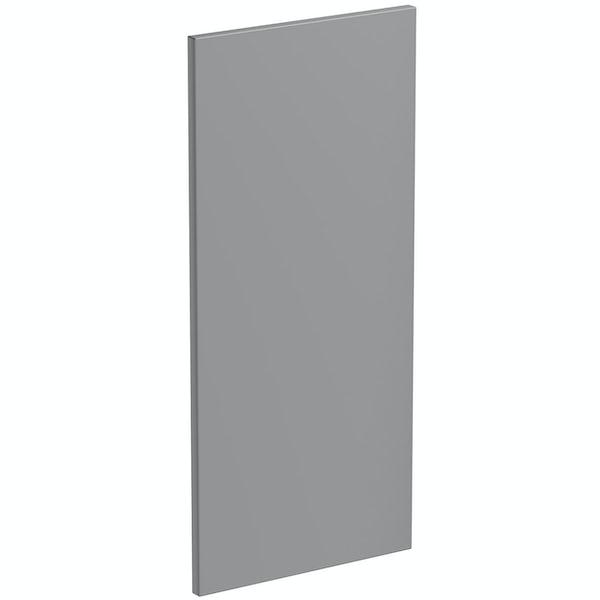 Schön New England light grey 720mm wall end panel