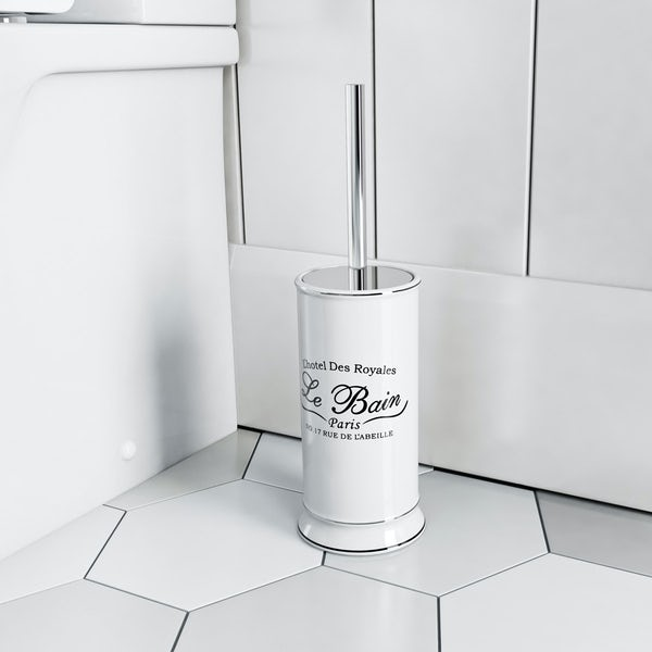 The Bath Co. Le bain toilet brush and holder