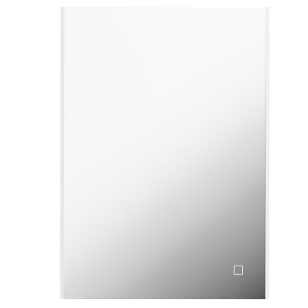 Mode Race LED illuminated mirror 700 x 500mm with demister