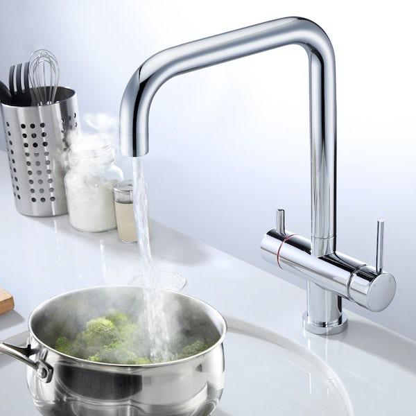 Schön Hilbre 3-in-1 boiling water tap