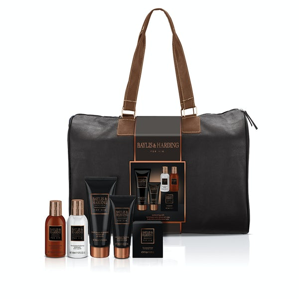 Baylis & Harding men's black pepper & ginseng weekend bag
