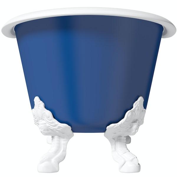 Artist Collection Midnight Blue cast iron bath