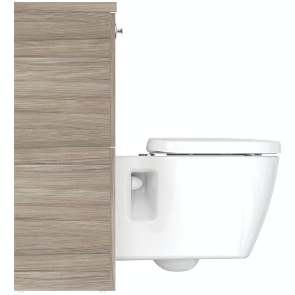 Ideal Standard Concept Space elm back to wall unit with toilet and soft close seat
