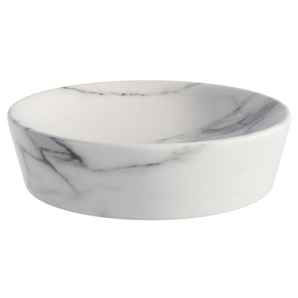Showerdrape Athena marble soap dish