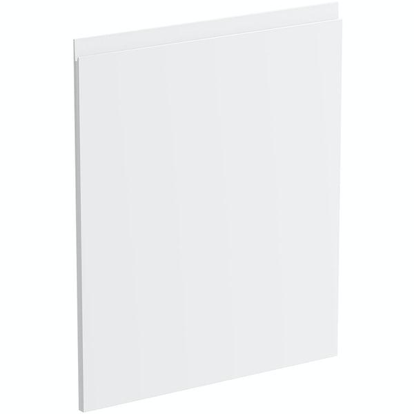 Schon Chicago white 600mm integrated dishwasher or fridge fascia