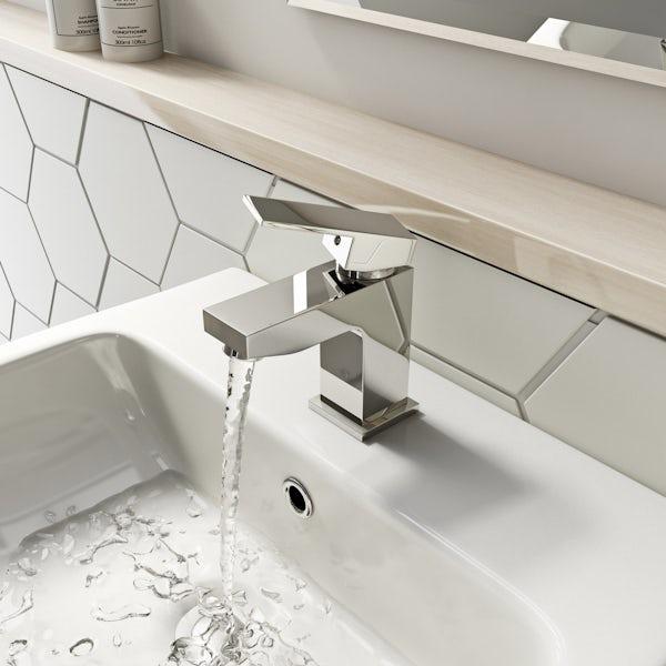 Kirke Cubic cloarkroom basin mixer tap