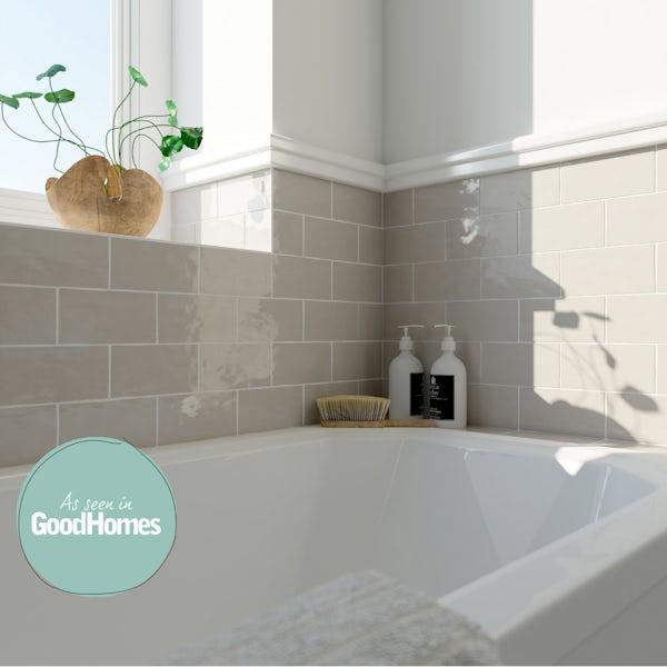 Laura Ashley Artisan cobblestone wall tile 75mm x 150mm