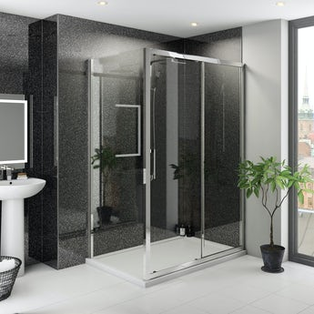 Multipanel Classic Premier Twilight unlipped shower wall panel 2400 x 1200