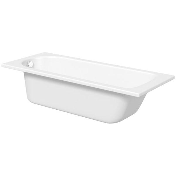 Kaldewei Saniform Plus straight steel bath with leg set 1700 x 700 with no tap holes