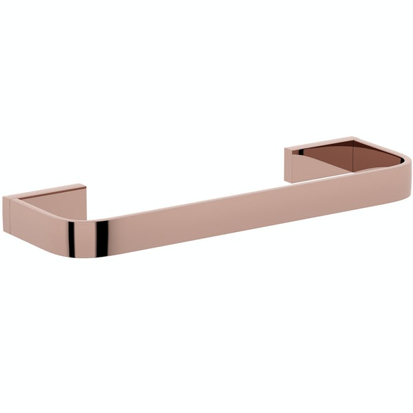 Mode Spencer rose gold towel rail