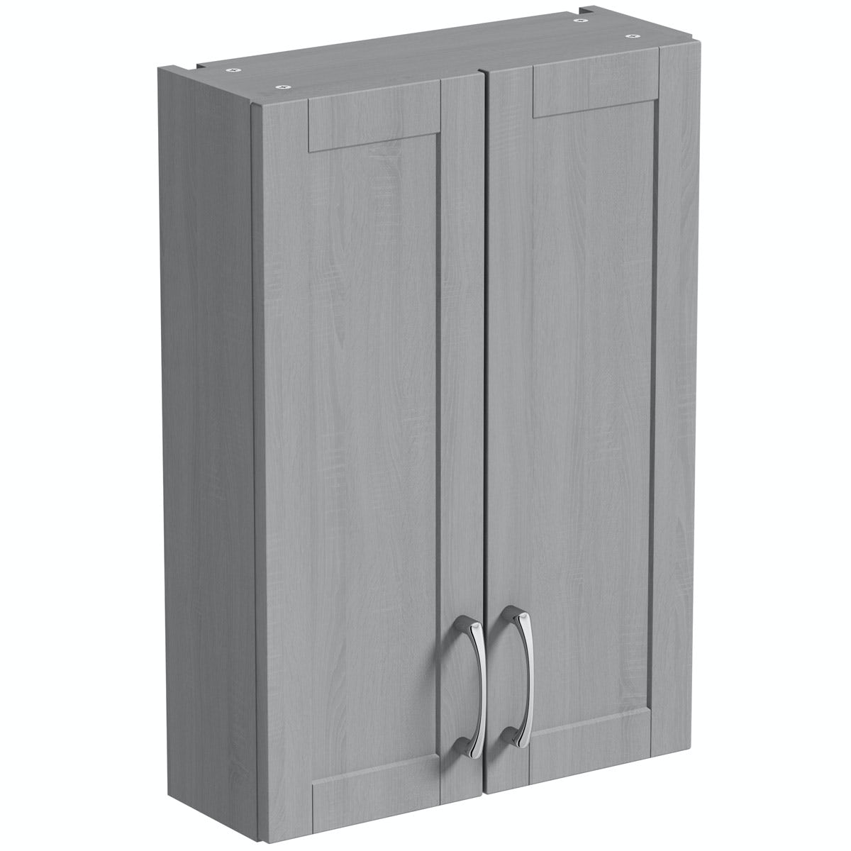 The Bath Co. Newbury dusk grey wall cabinet 500mm