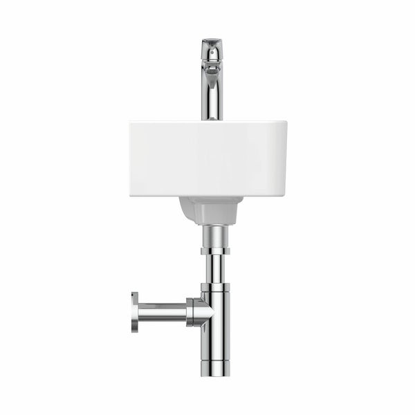 Ideal Standard Strada II right hand 1 tap hole wall hung basin 450mm