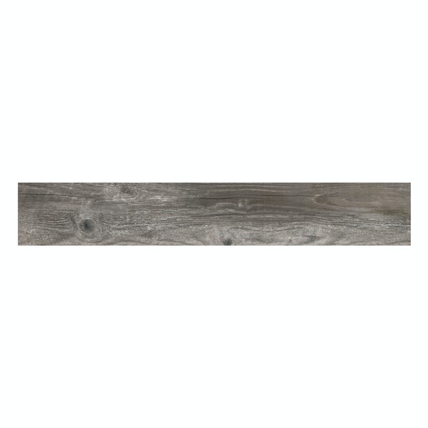 Hawthorne ash wood effect matt wall and floor tile 165mm x 1000mm