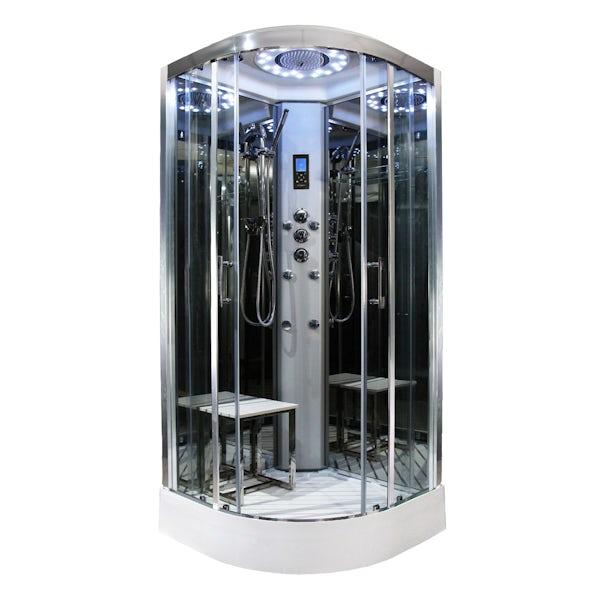 Insignia Platinum quadrant hydro-massage shower cabin