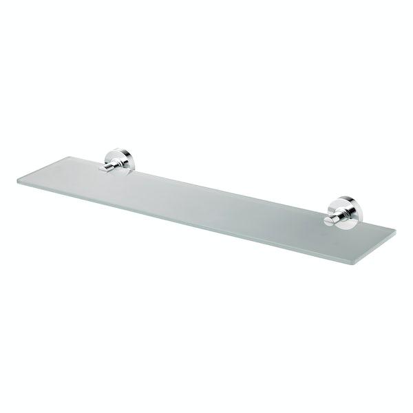 Ideal Standard Frosted glass shelf 520mm