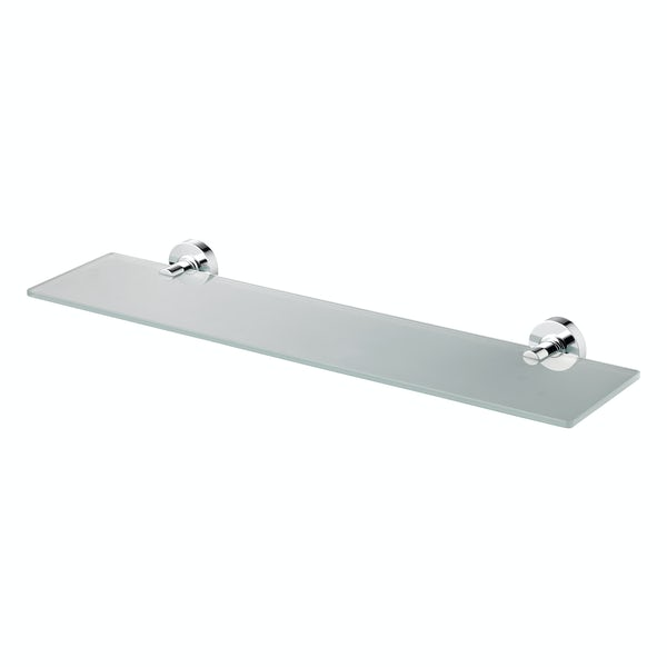 Ideal Standard Frosted glass shelf 520mm